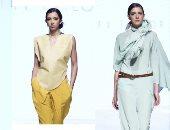 """""""باف تايلور"""" تتألق فى أسبوع الموضة العربى بأزياء صديقة للبيئة"""