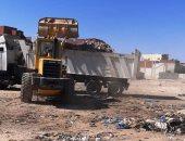 رفع 80 ألف طن قمامة خلال الصيف بمحافظة مرسى مطروح