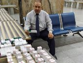 ضبط راكب بمطار القاهرة حاول تهريب كمية كبيرة من أدوية السرطان