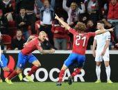 إنجلترا تسقط بثنائية أمام التشيك فى تصفيات اليورو.. فيديو