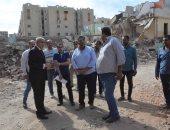 صور .. محافظ المنيا يتابع أعمال إنشاء 10 عمارات سكنية بمدينة العمال