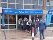 مطار سانت كاترين يستقبل وفود المؤتمر الدولى للسياحة الدينية.. صور