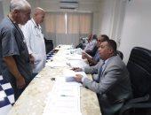 صور.. إقبال الأطباء على انتخابات التجديد النصفى لنقابة أطباء شمال سيناء