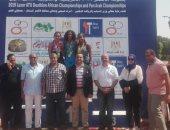 هايدى تيمور تفوز بالمركز الأول فى بطولة كأس أفريقيا للترايثلون بالأقصر