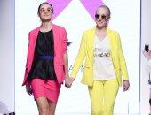 ألوان جريئة وملابس رياضية.. صوفيا نوبيس تدعم مرضى السرطان بأسبوع الموضة العربى