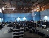ضبط مصنع غير مرخص لإنتاج الأجهزة الكهربائية المغشوشة بالجيزة