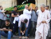 تشييع جنازة طارق كامل وزير الاتصالات الأسبق بحضور قيادات الوزارة