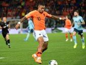 الإصابة تبعد ديباى عن مباراة بيلاروسيا ضد هولندا فى تصفيات اليورو