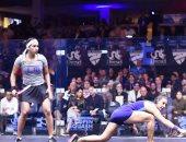 مصر تضمن لقب السيدات..نوران جوهر تتأهل لمواجهة نور الطيب في نهائي أمريكا المفتوحة للاسكواش