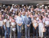 الفريق أسامة ربيع يلتقى الدفعة الثانية من البرنامج الرئاسى لتأهيل شباب أفريقيا