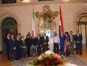 سفارة مصر في روما تكرم باحثة مصرية فازت بجائزة النبوغ العلمي بإيطاليا