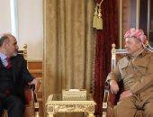 """""""الجربا والبارزانى"""" يبحثان التصعيد الأخير فى شمال شرق سوريا"""