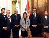 رئيس مجلس النواب يبحث التعاون الثنائى مع رئيسة الجمعية الوطنية الصربية