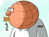 كاريكاتير الصحف السعودية.. العالم يصمت على جرائم أردوغان
