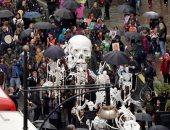 المحتجون على تغير المناخ يواصلون مسيراتهم فى بريطانيا