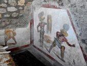 """اكتشاف جدارية فى بومبى تؤكد: المصارعون زبائن دائمون لـ """"بيوت البغاء"""""""