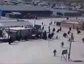 فيديو.. لحظة هروب العناصر الداعشية من السجون بعد العدوان التركى على سوريا