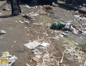 شكوى من تراكم القمامة والفوضى المرورية فى شارع غراب بشبرا الخيمة