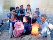 مطالب بإنشاء كوبرى لذهاب الأطفال المدارس بديل المراكب