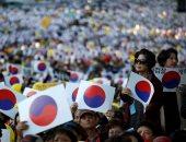 صور.. تظاهرات داعمة لوزير العدل بكوريا الجنوبية بعد تحقيقات فى قضايا فساد