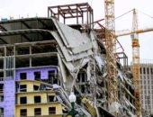 انهيار مبنى فى الهند ومخاوف من محاصرة 100 تحت الأنقاض