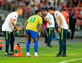 البرازيل ضد نيجيريا.. نيمار يتعرض للإصابة الثالثة في 2019