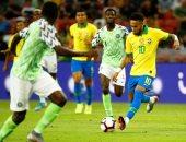 البرازيل تكتفى بالتعادل 1/1 مع نيجيريا فى مباراة ودية