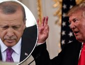"""""""ترامب"""" يعلق مفاوضات الاتفاق التجارى مع تركيا ويزيد رسوم الصلب 50%"""