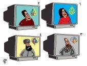 كاريكاتير سعودى ساخر.. قناة الجزيرة تتحول إلى قناة إيرانية فى عداءها للعرب