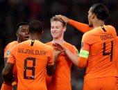 ملخص وأهداف مباراة بيلاروسيا ضد هولندا بتصفيات يورو 2020