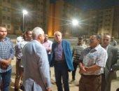 """نائب رئيس """"هيئة المجتمعات العمرانية"""" يتفقد مشروع """"الإسكان الاجتماعى"""" وخدماته"""