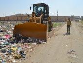 صور.. نائب محافظ الإسماعيلية: رفع وإزالة 120 طن مخلفات بمدينة المستقبل السكنية