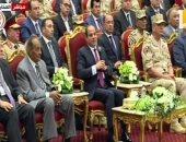 السيسى: المصريون لم يفقدوا الثقة فى أنفسهم حتى مع الهزيمة الكبرى