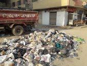 سكان شارع محمد نجيب بالمرج يشكون تراكم القمامة بالمنطقة