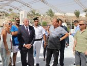 محافظ جنوب سيناء: بدأ المرحلة الثانية لتجميل شرم الشيخ نتاج أعمال منتدى فنون شباب العالم