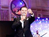 صور.. راغب علامة يتألق فى حفل غنائى بأحد فنادق القاهرة