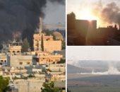 نزوح 300 ألف مدنى شمال سوريا منذ بدء العدوان التركى