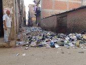 شكوى من استمرار تراكم القمامة فى أرض علوان بمركز بلبيس بالشرقية