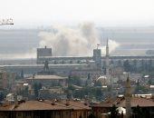 استمرار العدوان التركى العنيف على مدينة رأس العين السورية لليوم الثامن