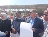 صور.. محافظ الغربية يتفقد مشروع تطوير كورنيش المرشحة