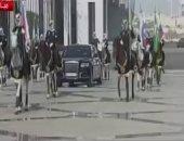 مراسم استقبال رسمية للرئيس الروسى بقصر اليمامة فى الرياض