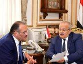 رئيس جامعة القاهرة يستقبل السفير السعودى للتعاون فى الملف التعليمى والثقافى