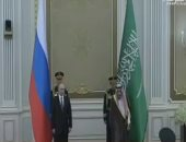 العاهل السعودى الملك سلمان يستقبل الرئيس الروسى بوتين بقصر اليمامة