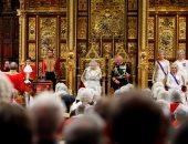 ملكة بريطانيا إليزابيث تحضر حفل افتتاح البرلمان فى لندن