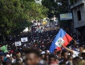مظاهرات فى هايتى للمطالبة برحيل رئيس البلاد بعد ارتفاع معدلات التضخم ونقص السلع