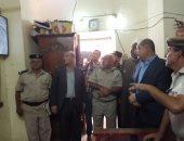 صور.. محافظ الغربية يتفقد غرف كاميرات مراقبة مسجد السيد البدوى