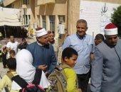 مدير المنطقة الأزهرية بالإسكندرية يشهد احتفالات أكتوبر فى برج العرب