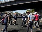 تنظيف الشوارع فى الإكوادور بعد احتجاجات الأيام الأخيرة
