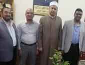 منطقة الأقصر الأزهرية: تبادل القوافل لأساتذة جامعة الأزهر بمستشفى الأقصر