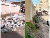 """شاهد.. مبادرة """"جو جرين"""" لتنظيف وتجميل محيط المدارس بالقليوبية"""